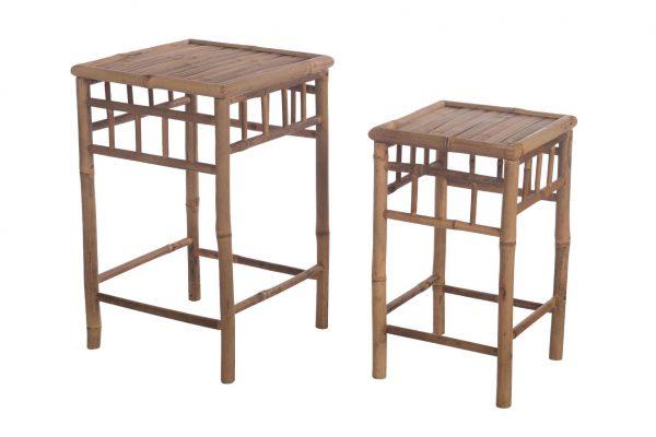 Bijzettafel Bamboo (set Van 2)