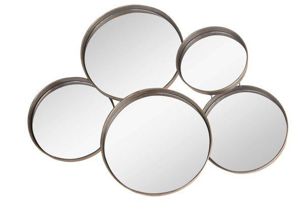 Metalen Spiegel Cirkels