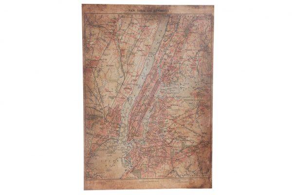 Houten Landkaart Engeland