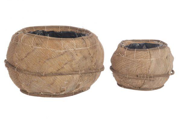 Pot Palmbladeren