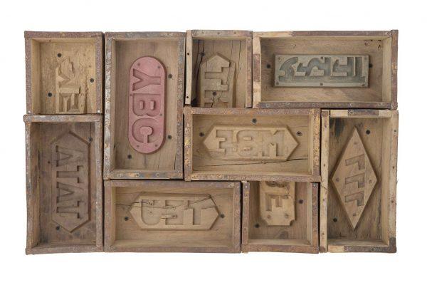 Vintage Steenmallen Letterbak