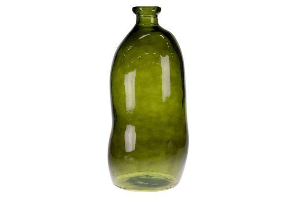 Vaas Van Gerecycled Glas Hoog
