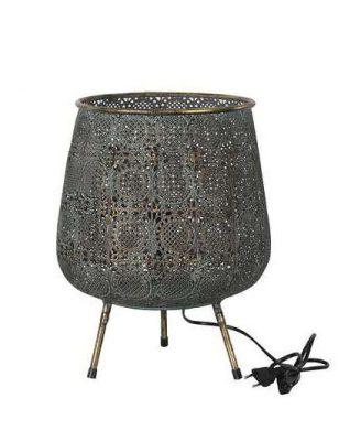 Lamp Met Metalen Poten