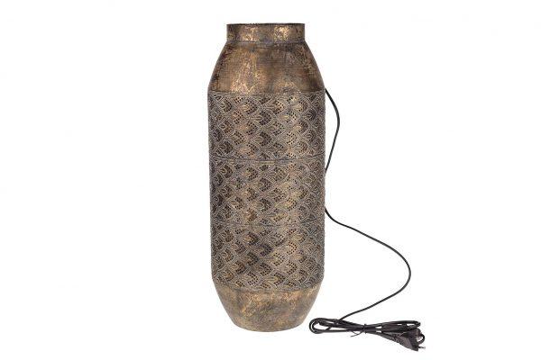 Lamp Metaal In Een Antiek Goudkleur
