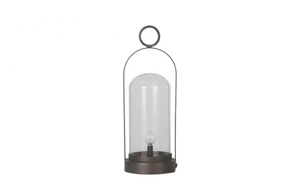Metalen Lamp Met Een Batterij