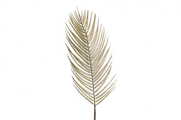 Goudkleurige Kunsttakken Palmblad 9 Stuks