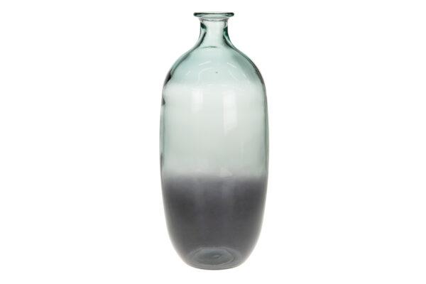Vaas Van Gerecycled Glas Grijs 38 Cm