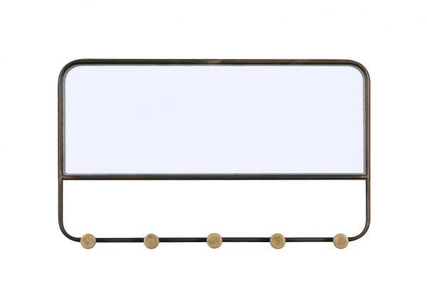 Metalen Spiegel Met Kapstok
