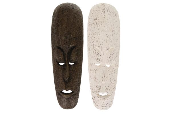Houten Maskers (set Van 2)