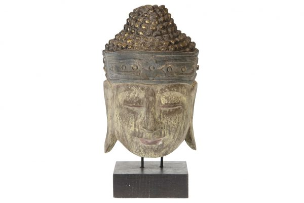 Buddha Hoofd Op Een Standaard M