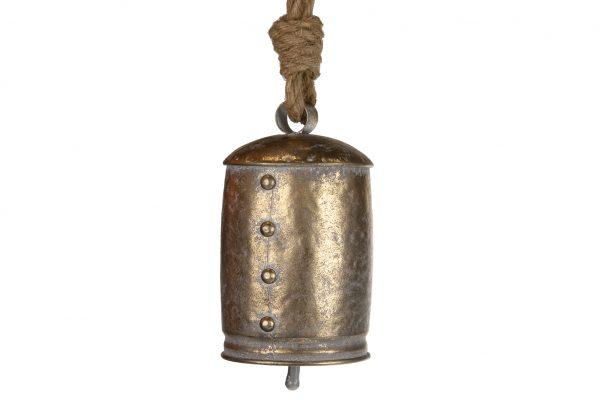 Metalen Bel Met Koord Goud M
