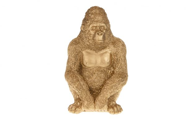 Gorilla Decoratieobject Goud