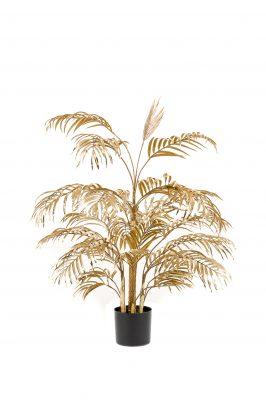 Kunstplant Palm Goudkleur 105 Cm