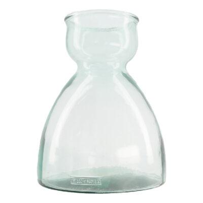 Vaas Gerecycled Glas Breed