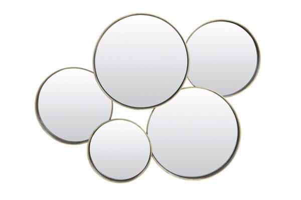 Spiegel Rondingen Brons