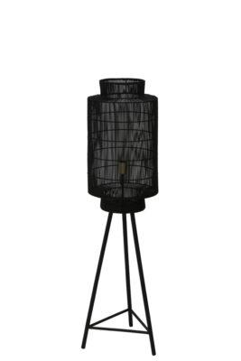 Vloerlamp Zwart M Stripe