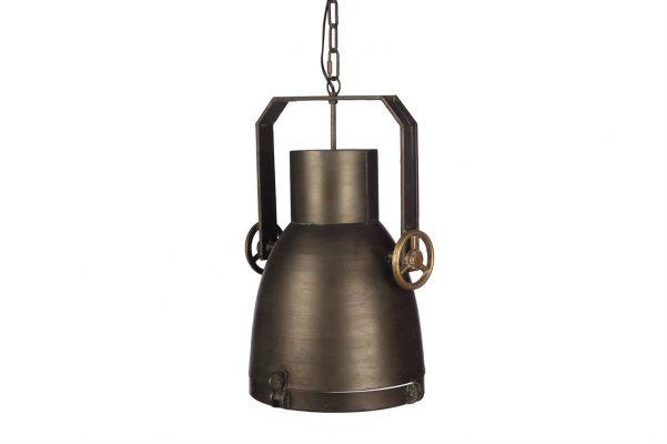 Industriele Hanglamp Oud Groen