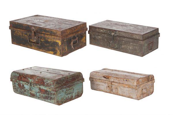 Vintage Metalen Koffer