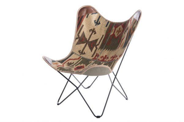 Vlinderstoel Van Kelim