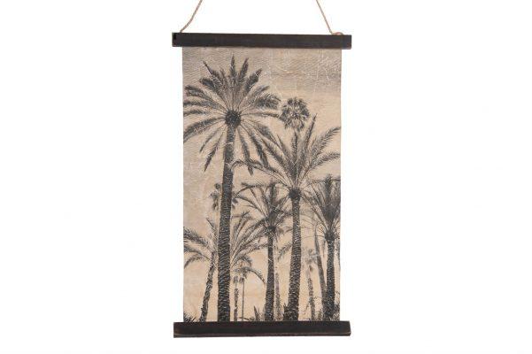 Wanddecoratie Palmboom S