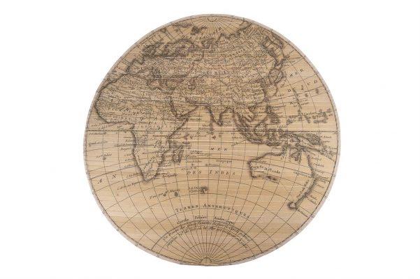 Wereldkaart Bamboe